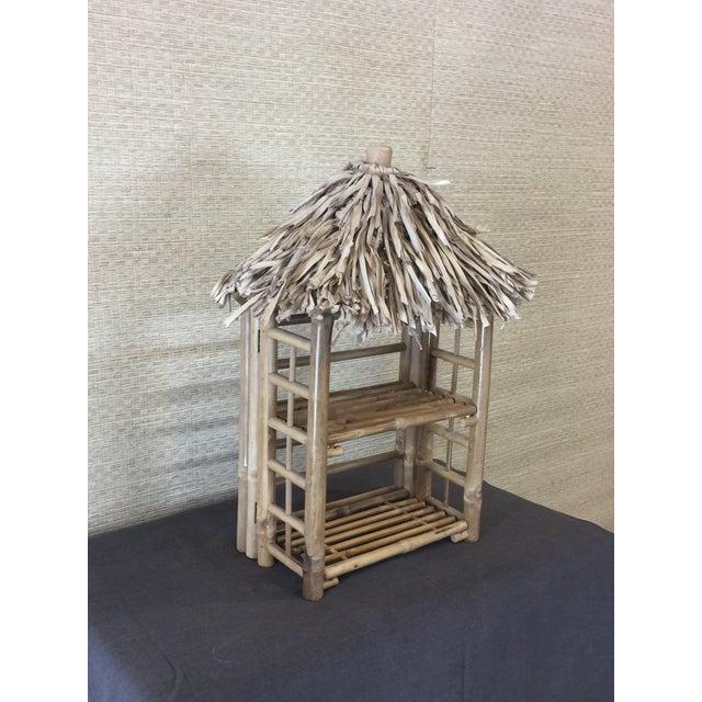 Bamboo Tiki Display Shelves - Image 4 of 9