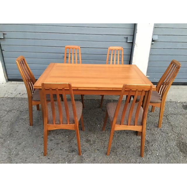 Benny Linden Design Mid-Century Dining Table & 6 Chairs For Sale - Image 4 of 11