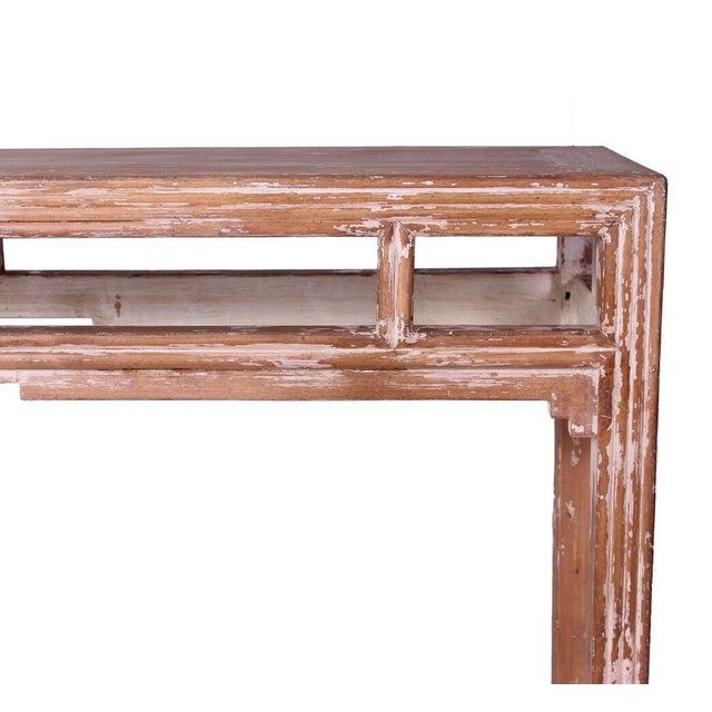 Sarreid LTD Distressed Altar Table - Image 2 of 3