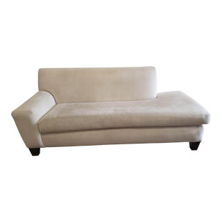 Modern Custom Made Sofa Chaise For Sale