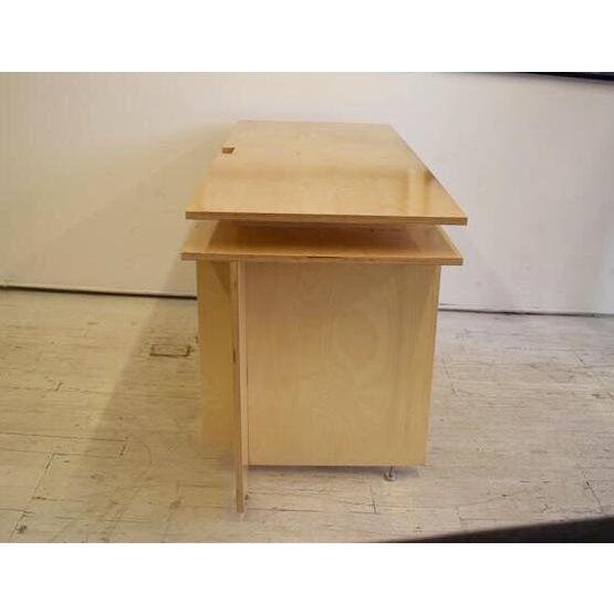 Danish Modern Modern Donald Judd's Architecture Desk For Sale - Image 3 of 5