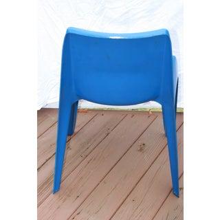 1960s Vintage Helmut Batzner Blue Space Age Bofinger Chair Preview