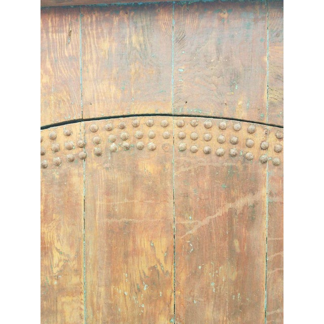 Islamic Antique Moroccan Mia Two-Tone Door For Sale - Image 3 of 9