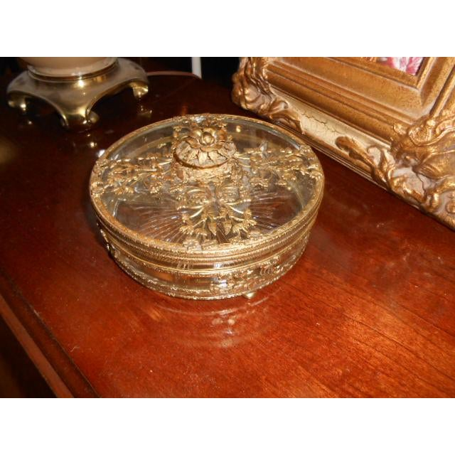 Antique Gold Ormolu Divided Dish For Sale - Image 10 of 10