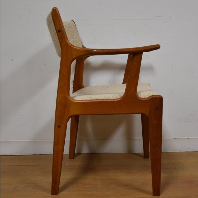 Mid-Century Teak Side Chair - Image 7 of 11
