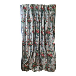Cowton & Tout Custom Drapes - a Pair For Sale