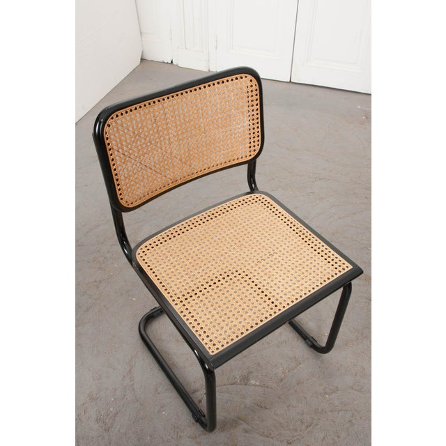 Vintage Bauhaus-Style Steel Side Chairs - Set of 4 For Sale - Image 10 of 10