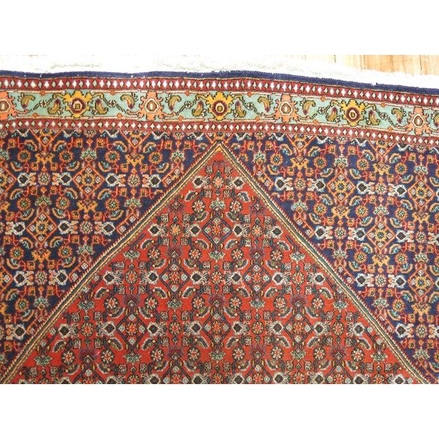 Boho Chic Vintage Persian Bidjar Rug - 3'9'' x 5'7'' For Sale - Image 3 of 6