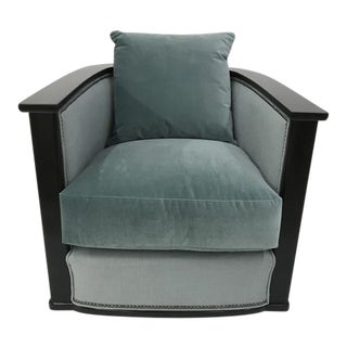 Century Furniture Jupiter Swivel Chair For Sale