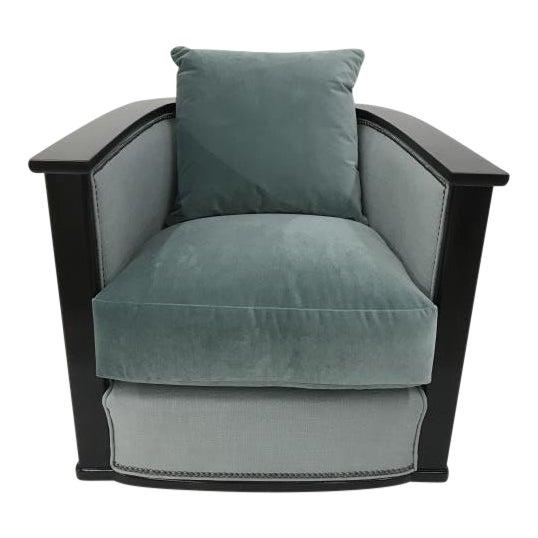 Century Furniture Jupiter Swivel Chair For Sale