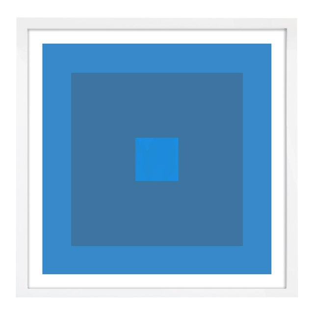 """Color Study #21"" Unframed Geometric Print For Sale"