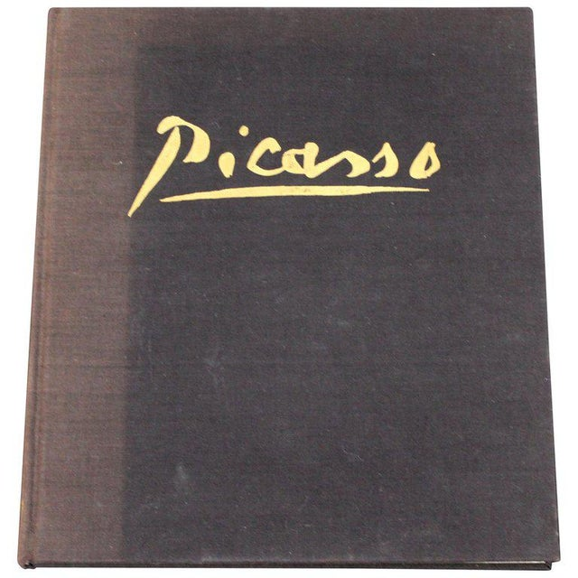 Black Mid-Century Modern Picasso Art Book by Keith Sutton, 1962 For Sale - Image 8 of 8