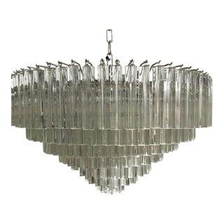 Murano Glass Sputnik Triedo Chandelier For Sale