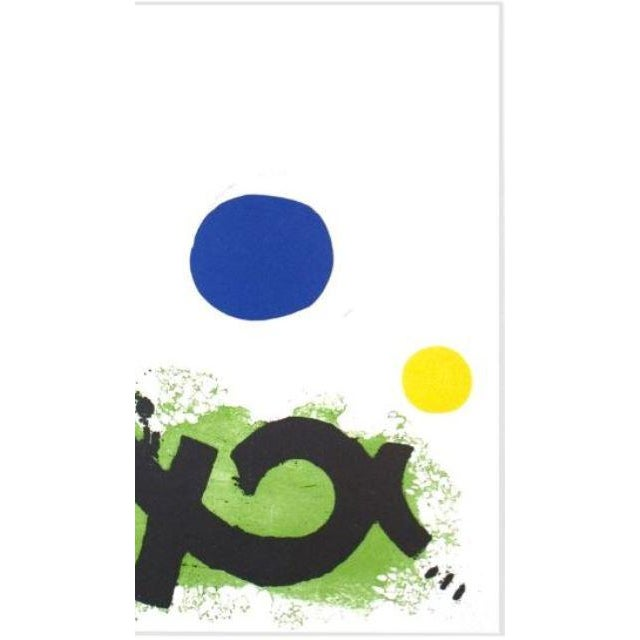 Abstract 1974 Untitled Adolph Gottlieb Print For Sale - Image 3 of 4