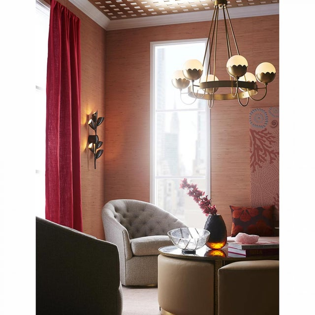 Celerie Kemble for Arteriors Cleo Chandelier For Sale - Image 10 of 12