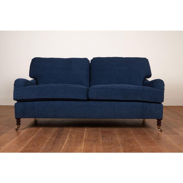 Traditional English Style 2 Seater Sofa For Sale - Image 4 of 4