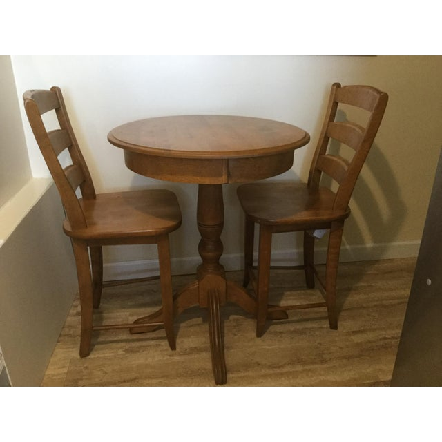 Solid Birch Kitchen Dining Set - Image 8 of 8