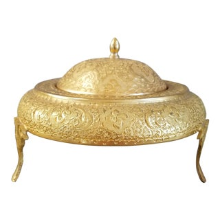 Persian Caviar Serving Bowl For Sale