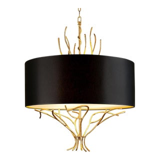 Florentine Antique Gold Leaf Lamp