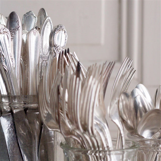 Vintage Silverplate Dinner Forks - Set of 8 - Image 7 of 7