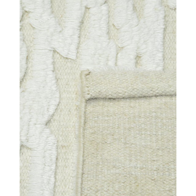 Color: Ivory - Made In: India. Fresh, spirited, and above all, luxurious, the rugs of the Modern collection can invigorate...