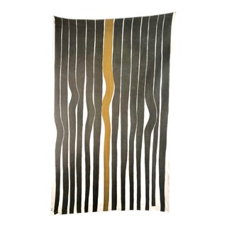 Knoll Vintage Modern Textile Fabric Wall Art For Sale