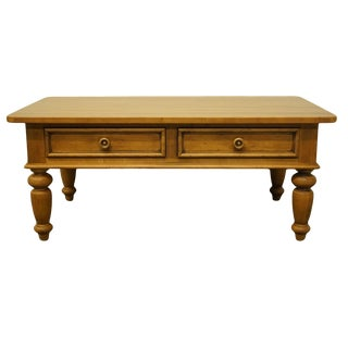 20th Century Traditional Ethan Allen New Country Collection Coffee Table For Sale