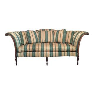 Cal Mode Camel Back Sofa For Sale