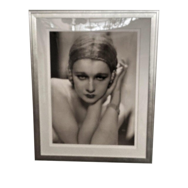 Vintage 2000 George Hurrell Anita Page Digital Photograph Based on Restored 1930 Negative For Sale