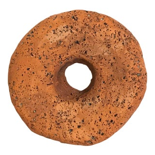 Surface Ceramics Wall Donut For Sale