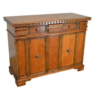 Henredon Continental Style Server Cabinet For Sale
