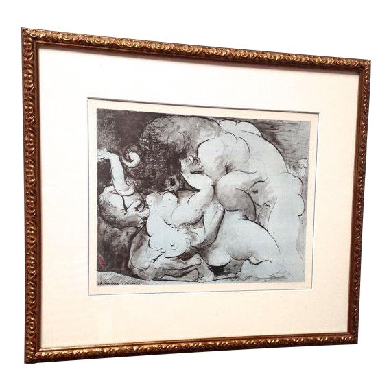 Pablo Picasso Minotaur Lithograph For Sale
