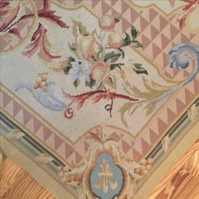 Vintage French Tapestry For Sale In Jacksonville, FL - Image 6 of 9