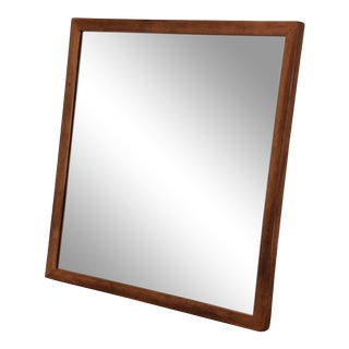 Mahogany Mirror Designed by Edward Wormley for Dunbar For Sale
