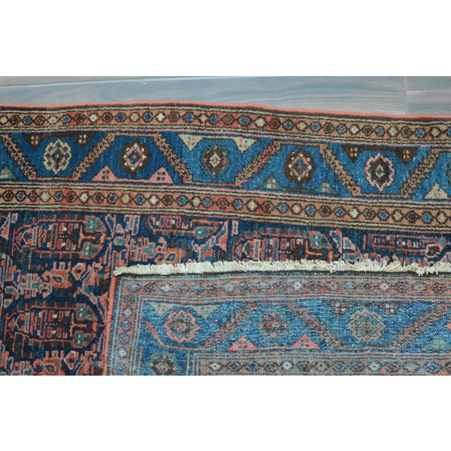 """Paisley Antique Persian Malayer Rug - 3'10"""" X 6'4"""" - Image 8 of 8"""