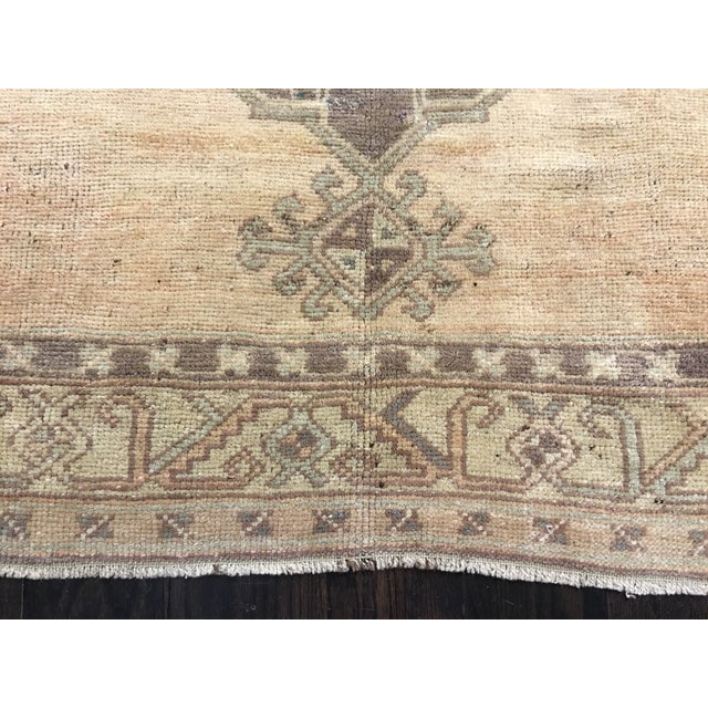 Turkish Oushak Runner - 5' x 13' - Image 3 of 8