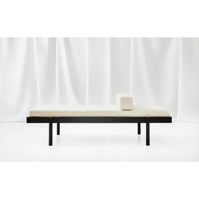 Contemporary Wc2 Daybed by Ash Nyc in Black Oak For Sale - Image 3 of 7