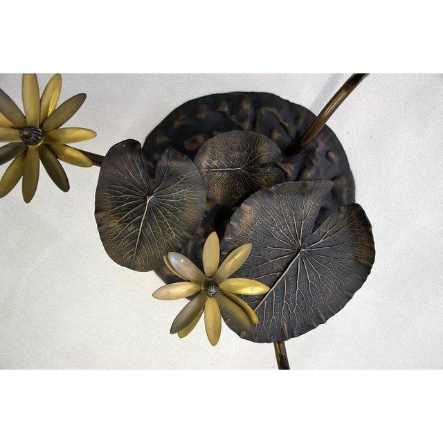 Stylish Mid-Century Modern Lotus Coffee Table - Image 2 of 11