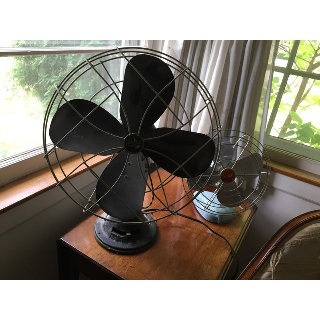 1950s Vintage Table Fans - a Pair For Sale In Chicago - Image 6 of 12