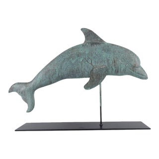 Dolphin Shaped Weathervane