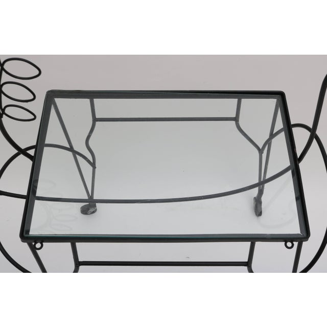 Mid 20th Century Mid-Century Modern Horse-Form Bar Cart by Frederick Weinberg For Sale - Image 5 of 9