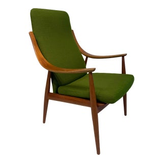 Mid Century Modern Peter Hvidt & Orla Mølgaard-Nielsen for John Stuart Lounge Chair For Sale