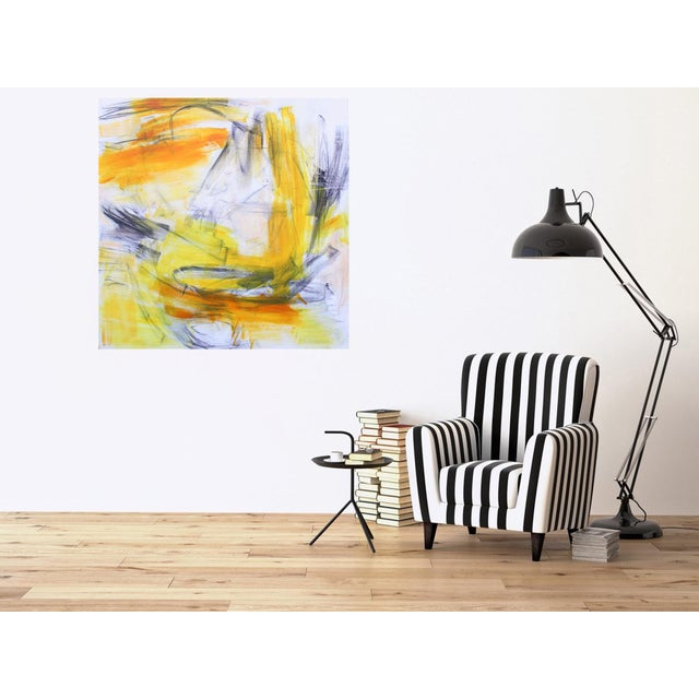 """Trixie Pitts """"Going West"""" by Trixie Pitts Large Abstract Expressionist Painting For Sale - Image 4 of 10"""