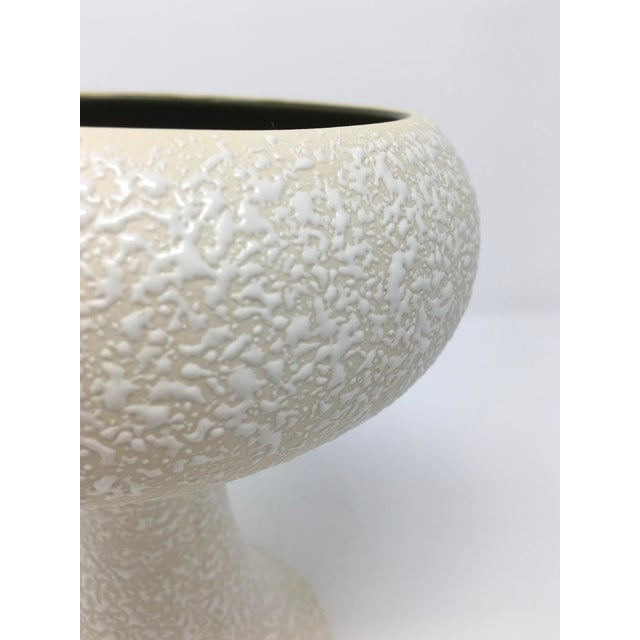 Ceramic Mid-Century Modern Winter White Pottery Collection - 3 Pieces For Sale - Image 7 of 13
