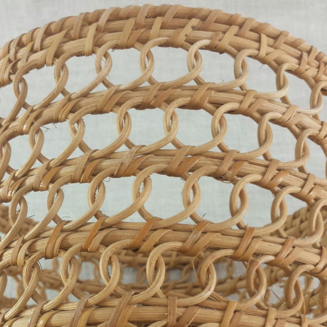 Bamboo Woven Basket - Image 4 of 6