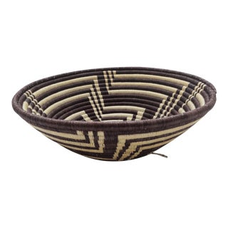 Native Inspired Woven Coil Basket