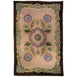 Image of Vintage Hooked Rug For Sale