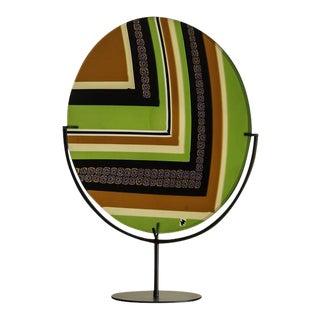 Contemporary Italian Art Glass Platter, Ercole Moratti, Venice