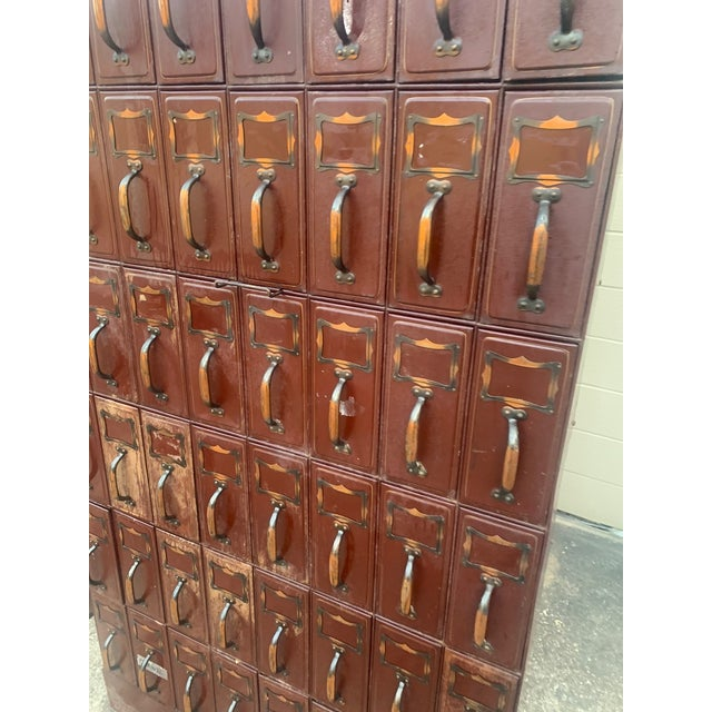 Industrial Vintage Industrial File Cabinet For Sale - Image 3 of 13