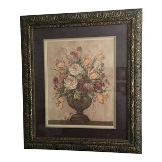 Large Floral Arrangement Picture Print